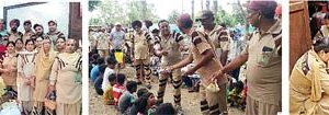 Dera Followeres Leads the Way to help Bathinda Flood victims , Give food first aid help