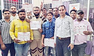 Dera devotees give blood to patients of thalassemia every month