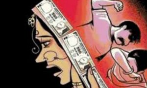 Dowry pressed woman's throat, death