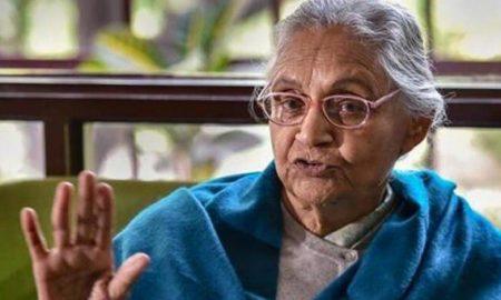Former Delhi CM Sheela Dikshit dies