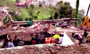 Giri Building in Solan, Two Deaths