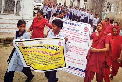 Hepatitis World Day Celebrated With Awareness Rally