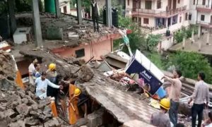 Himachal: 13 people including 12 jawans killed in 4-storey building collapse in Solan