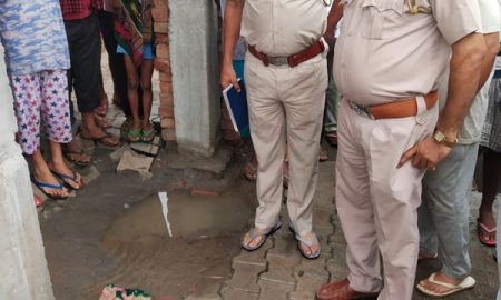 Kala Yuga mother throws nasal child to drains