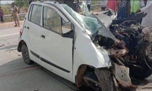 Nine people die in road accident in Maharashtra