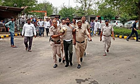 Police custody handed over, people handed over to police