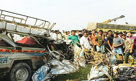 Punjab: 5 killed, five injured in road accident