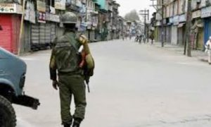 Restrictions in parts of Srinagar for security reasons