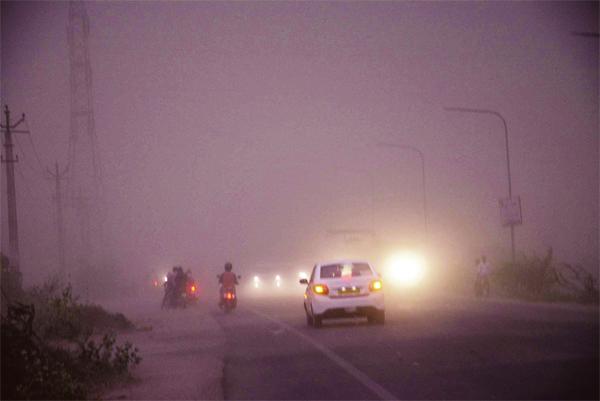 Shadow dust in Haryana, people get annoyed