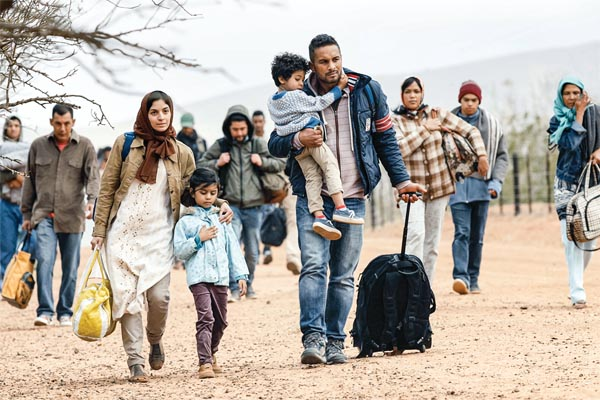 The world over by the burden of refugees