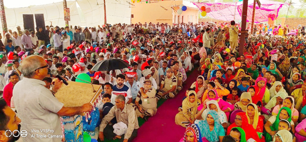 'We believe strongly on the worship of Guru Ji and our faith'