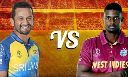 World Cup Sri Lanka-West Indies match today