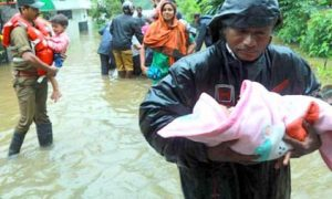 #Flooding, Relief work intensified in flood affected areas