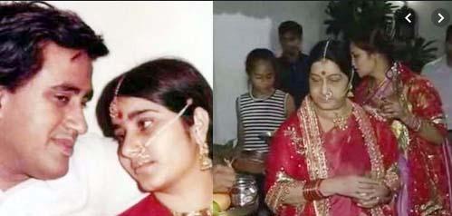 Haryana-born Sushma started politics as a student leader