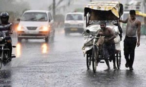 Heavy rain warning in Rajasthan