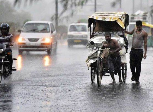 Heavy rain warning in Rajasthan