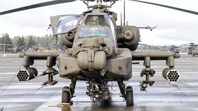 Indian Air Force Apache