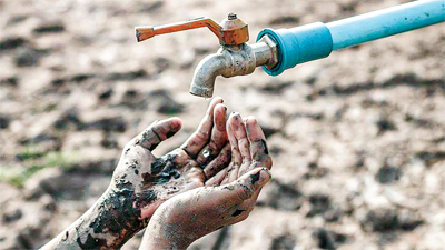 Water crisis: Livelihood and life in danger #Water