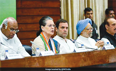 #congress President of political parties: election by selection
