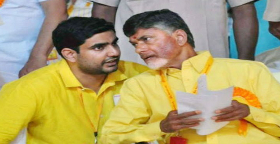 Andhra: Chandrababu and his son arrested on hunger strike against Jagan government
