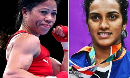 Award: Sindhu sent for Padma Bhushan the first female athlete to be nominated for Mary Kom Padma Vibhushan