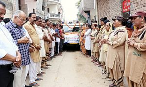 #Body donation,#dera sacha sauda,