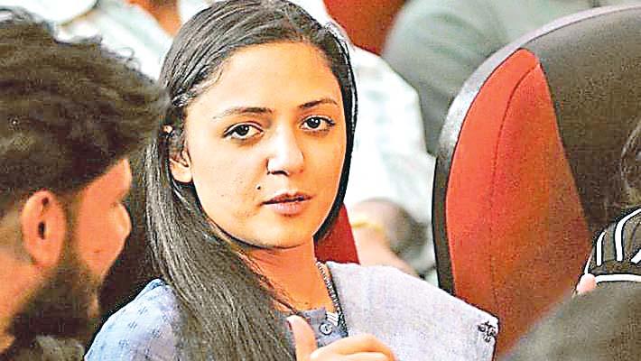 #Delhi police, #JammuKashmir, Treason case filed against Shehla Rashid