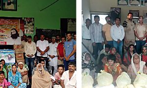 #Food bank, #Dera sacha sauda.#Humanity