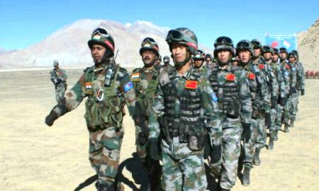 Ladakh: China objecting to the patrolling of Indian jawans in Pengong Lake clash ends after flag meeting