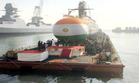Rajnath handed over INS Khanderi to Submarine Navy, said- made fun among cartoon makers