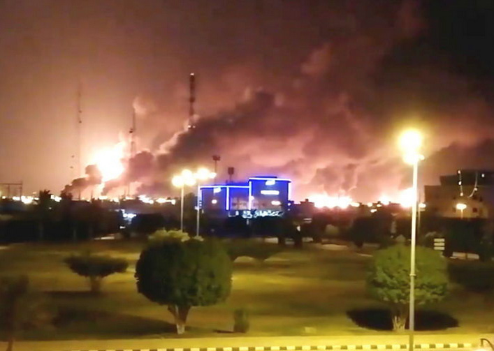 Saudi Arabia: Drones blast at 2 installations of world's largest oil company Aramco