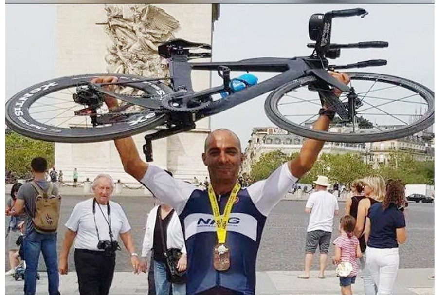 Triathlon: Mayank covered 463 km Enduroman wins world record first Asian athlete to do so