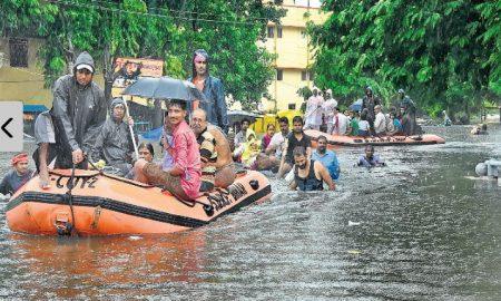 Water,Enters 80%, Patna Homes
