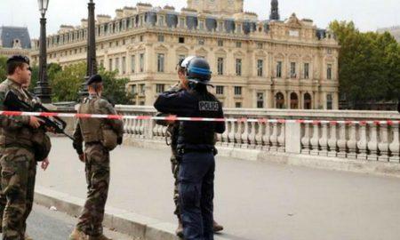Attacked at Paris Police Headquarters