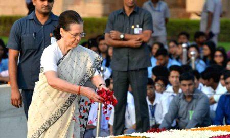 Congress: Sonia Gandhi said- Those who do politics of lies will not understand Gandhi's philosophy