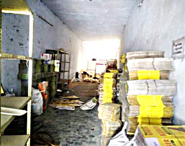 Cracker Warehouse Seal
