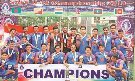 Football: India won under-18 SAF Cup title for the first time defeated Bangladesh