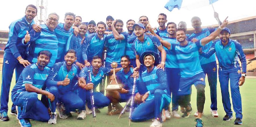Vijay Hazare Trophy 2019 Winner karnataka