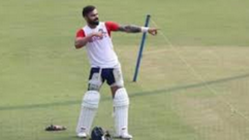 practice for first pink ball test Sach Kahoon