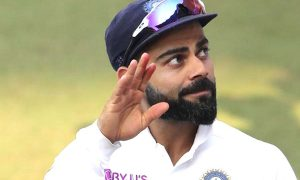 Captain Virat breaks Dhoni's record, equals border