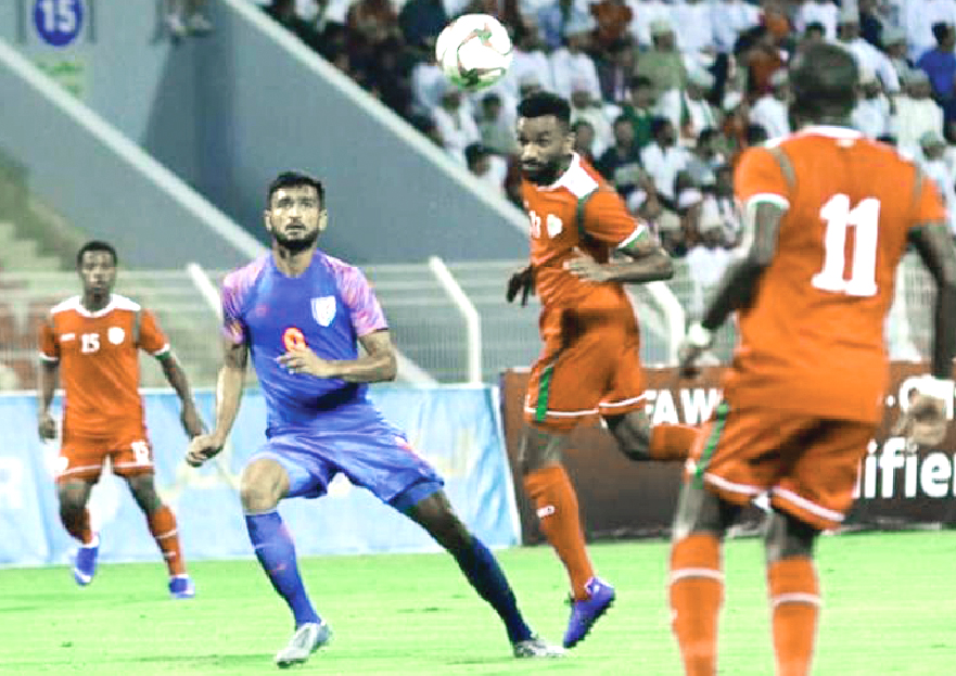 Football: India out of the World Cup race after losing to Oman