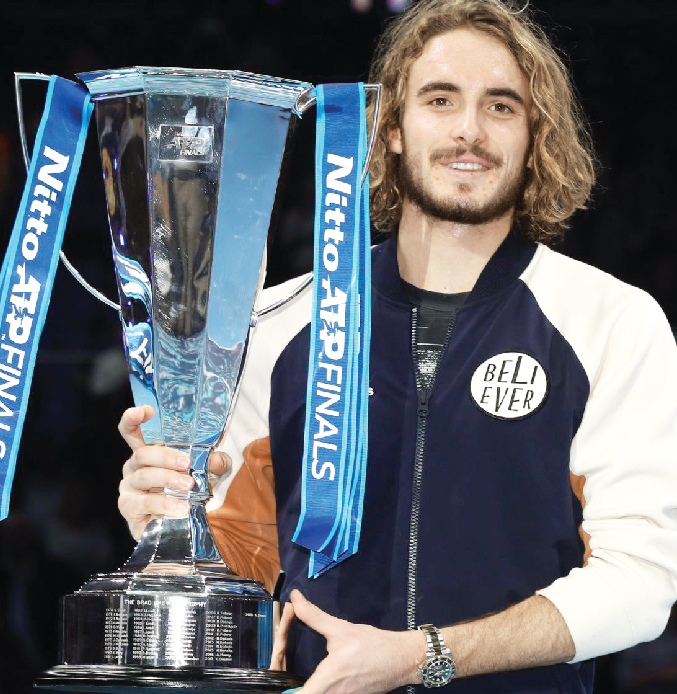 Greek sitipas became youngest champion