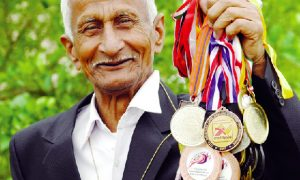 Ilamchand Insan again won gold medal