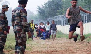 Kashmir Army recruitment