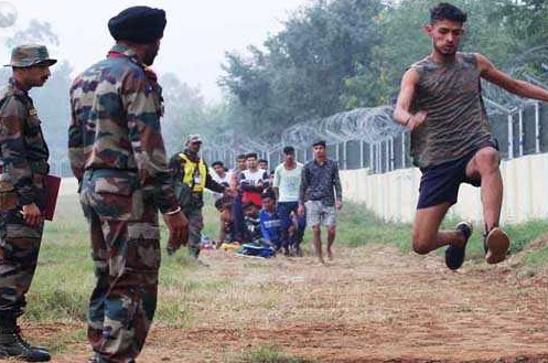 Kashmir Army recruitment