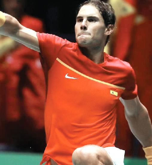 Nadal wins Spain against Russia