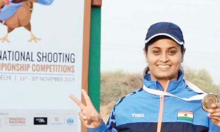 Shreyasi became the new national trap champion