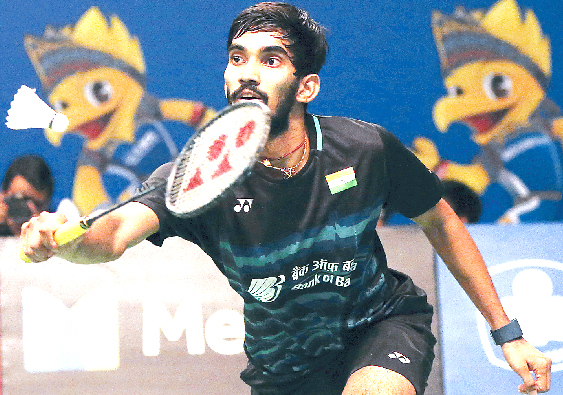 Srikanth in quarter finals Praneeth out
