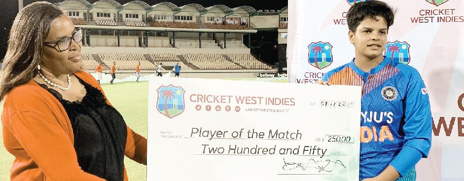 T20: Indian team won by record partnership of Shefali and Smriti