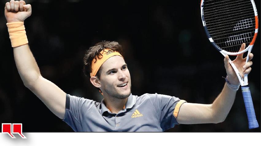 Tennis: Thiem reaches finals will face Tsitsipas